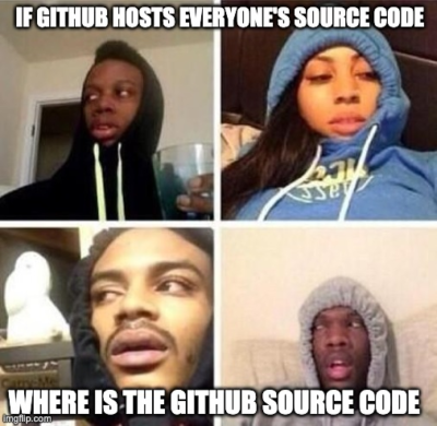 Where is GitHub's source code