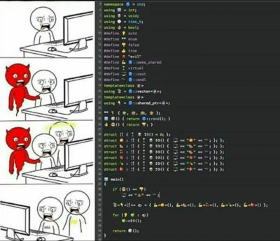 A different way of code