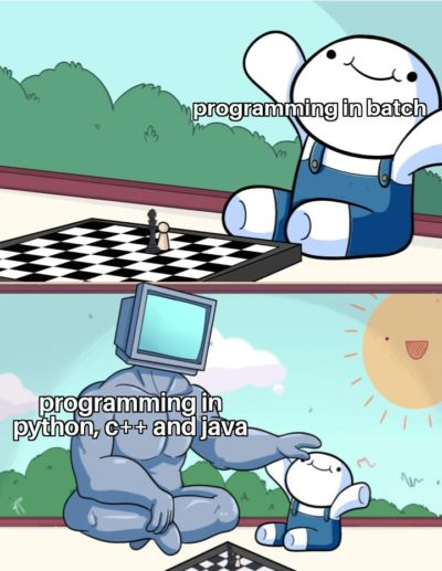 Ah yes, i call myself a programmer