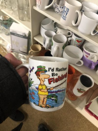 Found at a local thrift shop