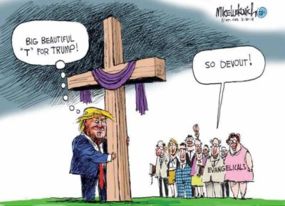 He was elected President for our sins