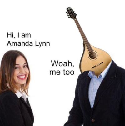 And I'm a guitar