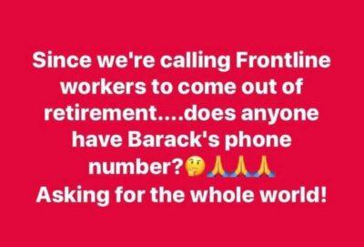 Calling back retirees…