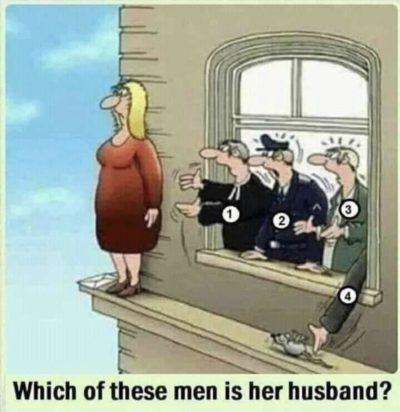 Haha wife bad