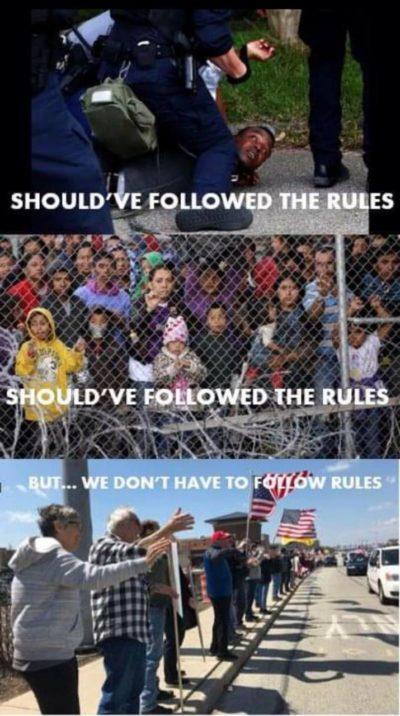 Hypocrisy at its finest