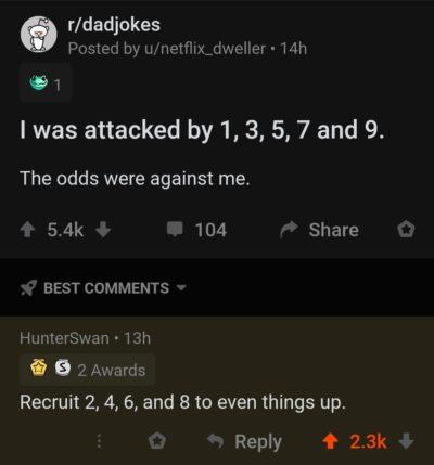 Something's odd