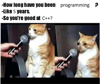 Day 1825 of learning C++ in 21 days