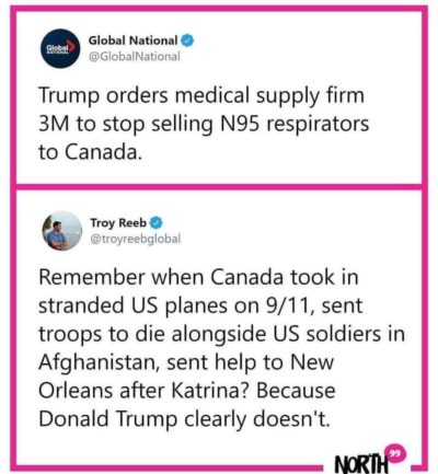 Don't mess with Canada