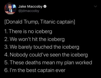 The iceberg is a hoax!