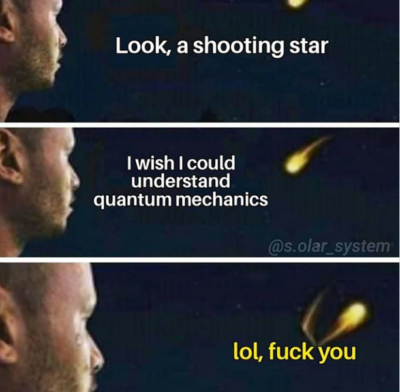 Shooting star wishes u luck