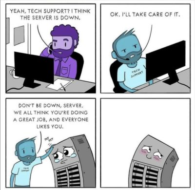 Tech support be like