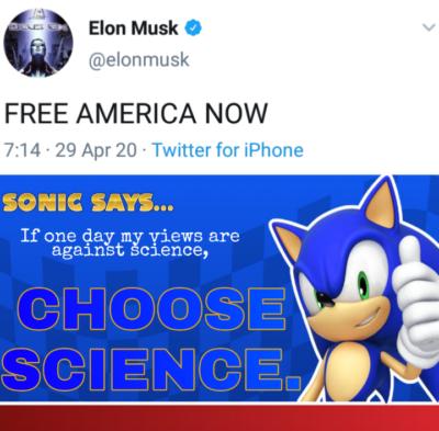 Sonic said