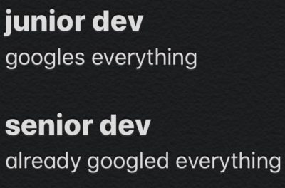 difference between developer experience