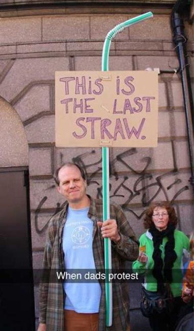 The last straw!