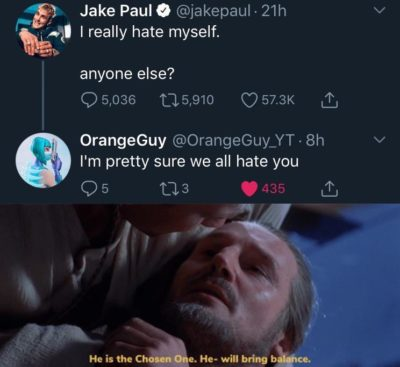 He is the chosen one