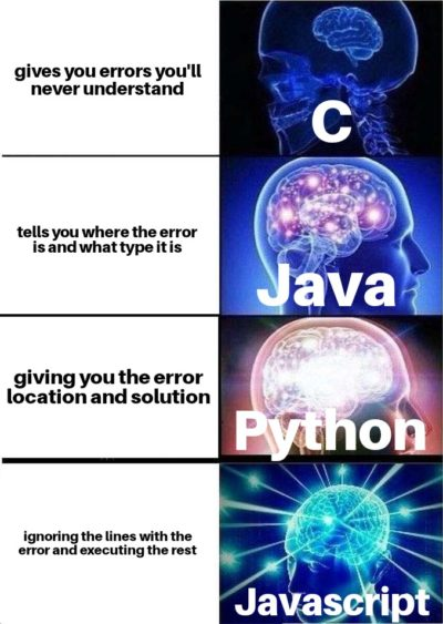 Everyone handles those errors in their own way