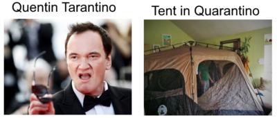Quarantine puns