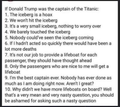 Donald Trump in a nutshell