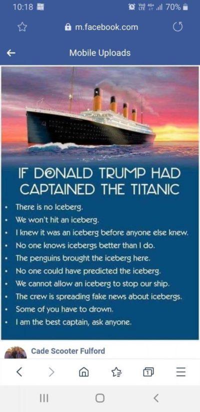 Trump Titanic