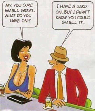 Boomers flirt.