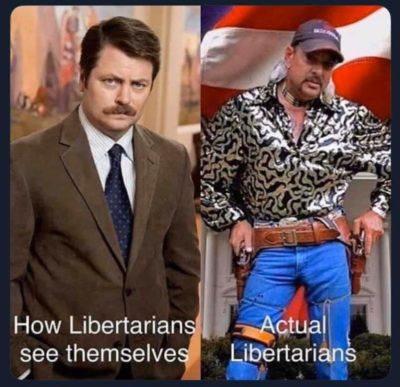 Actual Libertarians