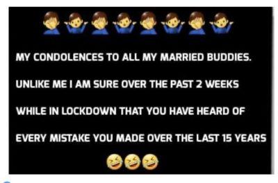 Quarantine Boomer Humor…
