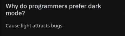 now who wants bugs?