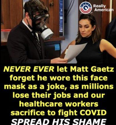 Spread his shame.