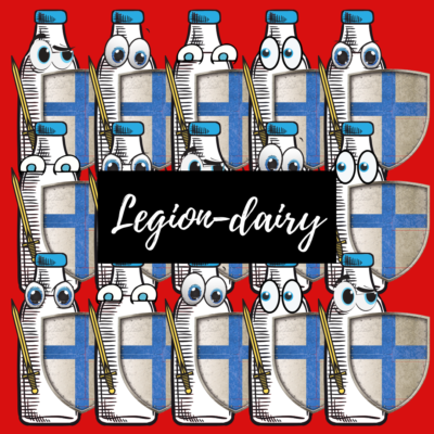 They will protect you from all the evils in the world! They are truly a 'legion-dairy' squadron!