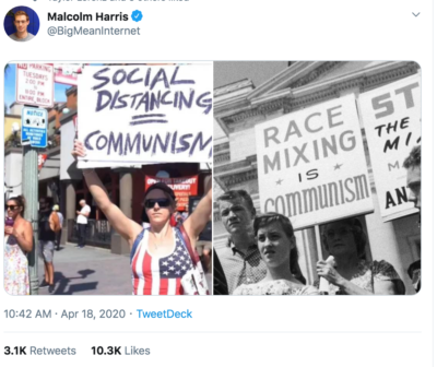 History of The Conservative movement in two images.