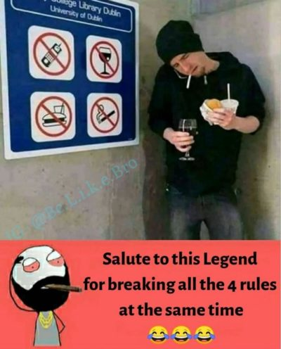 Salute to this legend