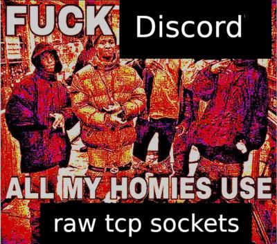 i dont use discord