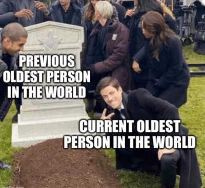 How the news about oldest person on earth feel