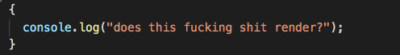 Anger management during debugging