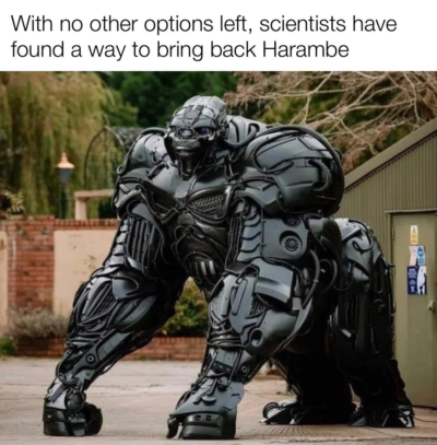 Optimus Harambe!
