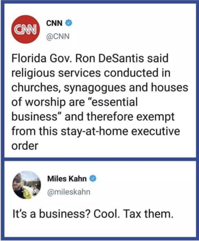Okay, then tax em' up!