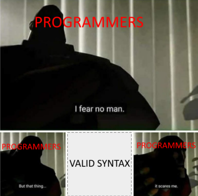 Another programming meme that I made.