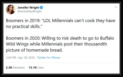 Boomers 2019 vs Boomers 2020