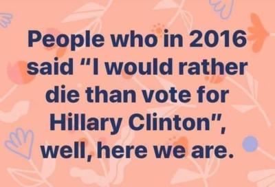 Die-hard Trump fans