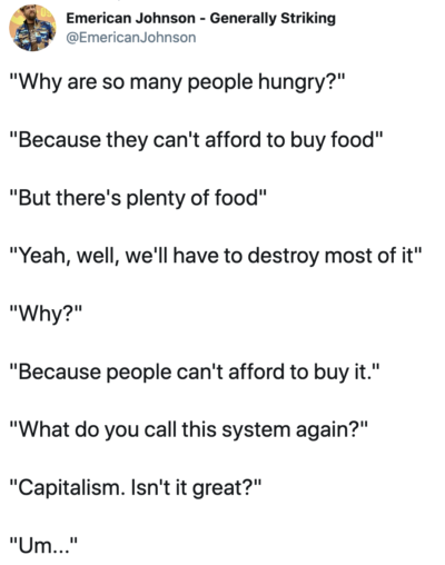 Why are so many people hungry?