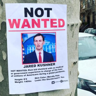 Not Wanted: Jared Kushner