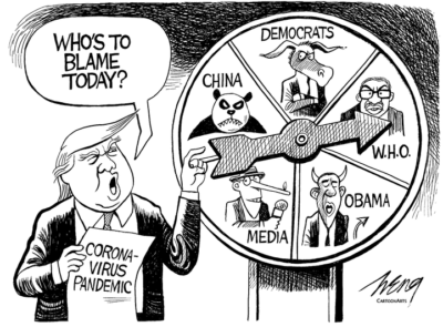 Spinning the Blame Wheel …