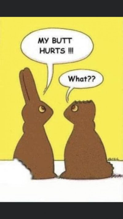 happy easter everyone! stay healthy