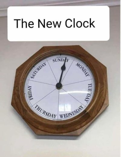 New quarantine clock