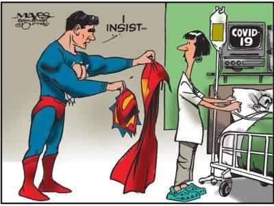 Doctor Good, Superman Bad