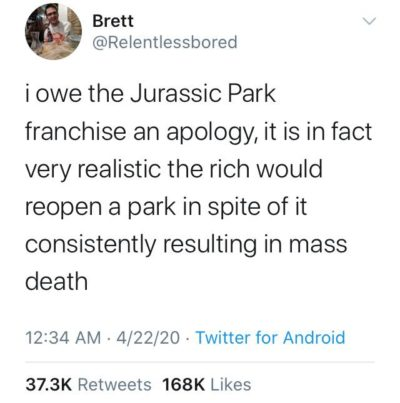The scientific accuracy of Jurassic Park