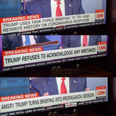 CNN's chyron right now