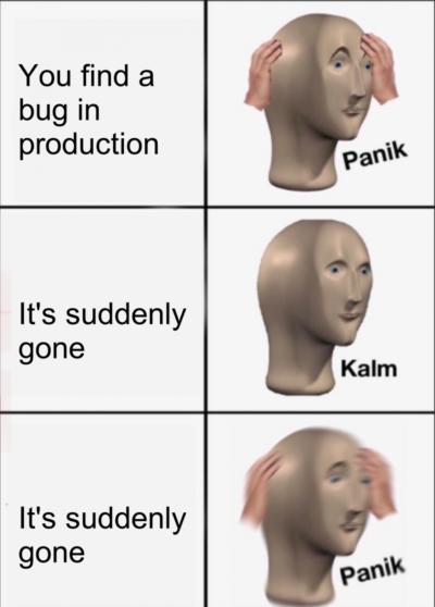 bonus panic if it is a critical bug