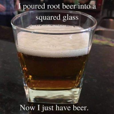 It's just beer now