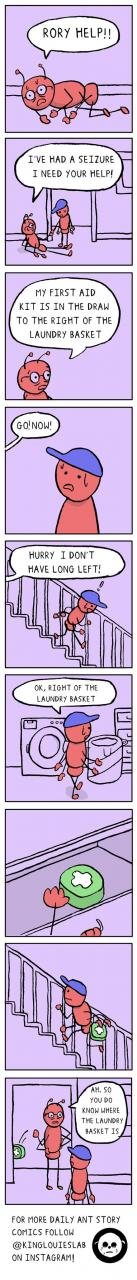 Laundry, a difficult concept